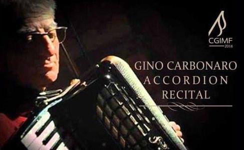 Gino Carbonaro Accordion Recital