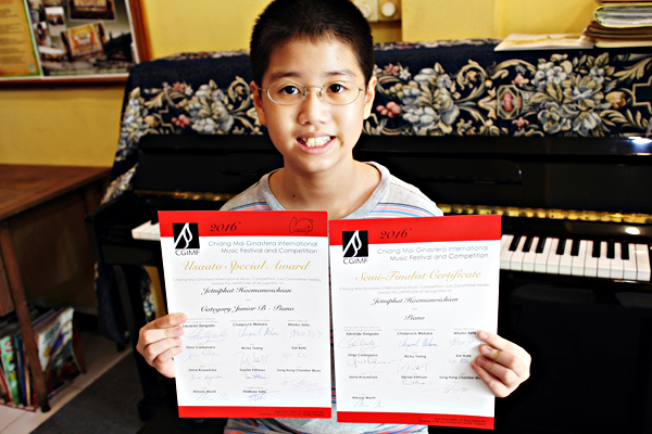 Junior Prize Winner Concert – Chiang Mai Ginastera International