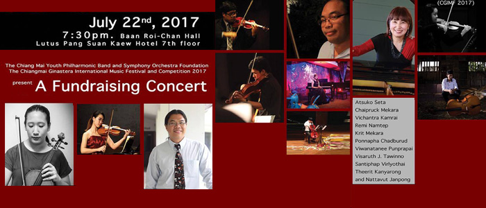 Fundraising Concert in Chiang Mai, Thailand
